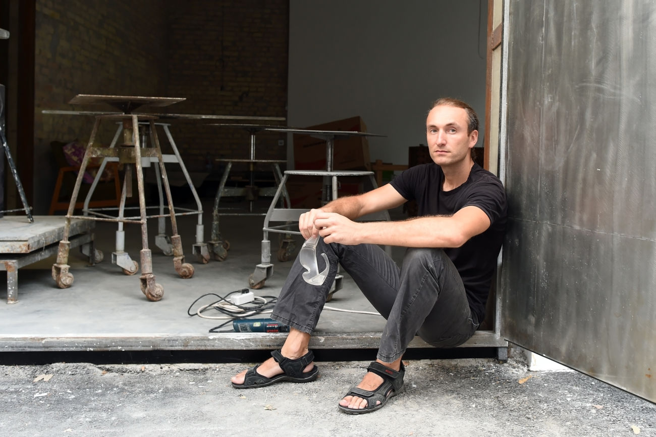 Artist Talk with Nazar Bilik