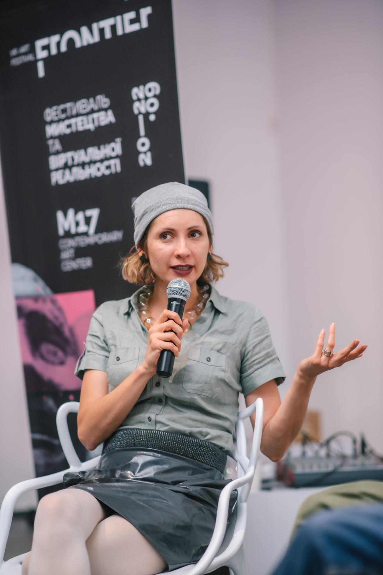 Frontier. VR Art Festival. Kyiv. The Closing