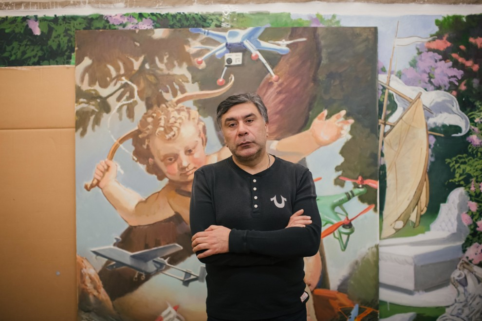 Artist Arsen Savadov about pop art, Voices of Love and erogenous zones of art // Vogue Ukraine