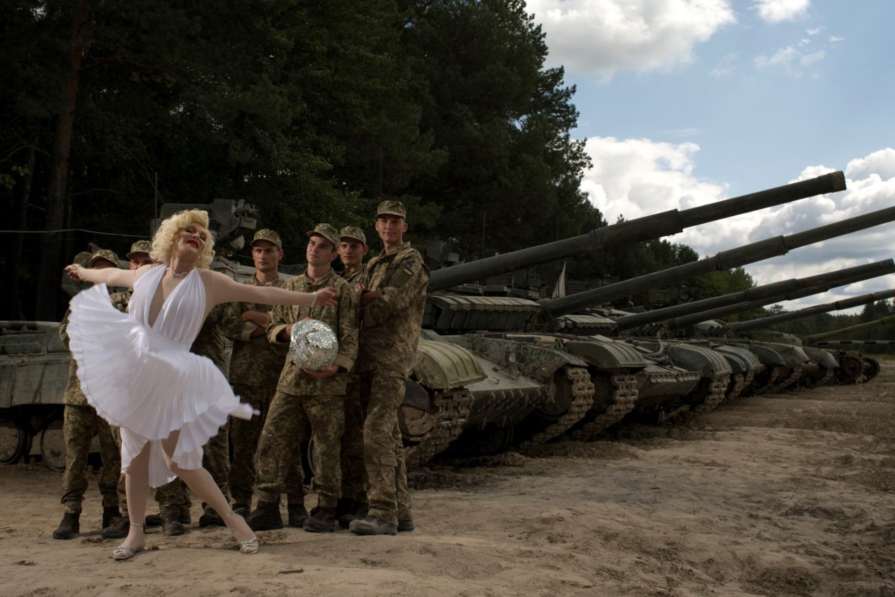 Marilyn Monroe in Popasna and helmet-disco-ball. Five reasons to visit the