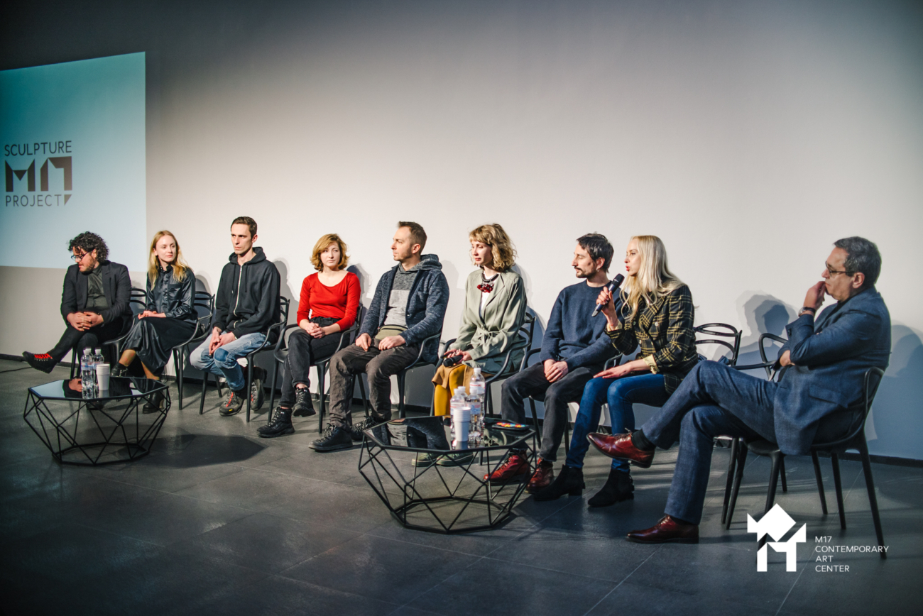 A press conference devoted to identifying nominees for the M17 Sculpture Prize was held