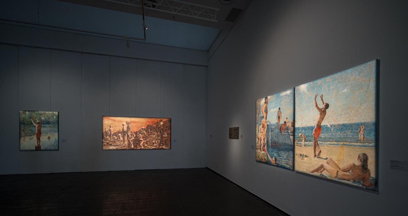 (Українська) Центр сучасного мистецтва М17 запрошує на виставку Віктора Сидоренка «Несвоєчасне» // Новий канал