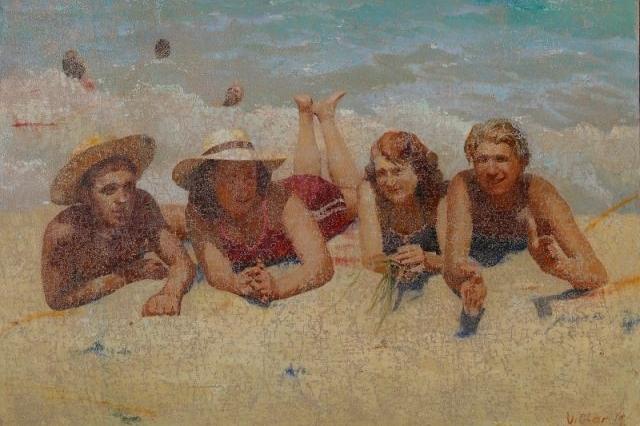 Офлайн повертається: в М17 – одразу два проєкти художника Віктора Сидоренка. Про пляж! // Platfor.ma