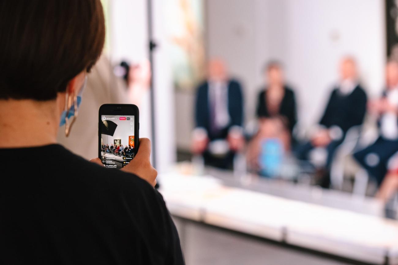 У столиці презентують роботи митців, твори яких потрапили до французького музею – Вечірній Київ
