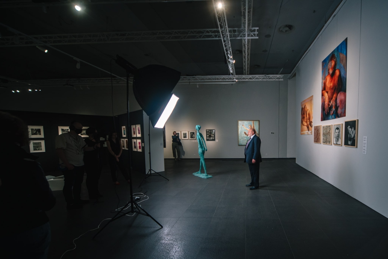 В Києві відкрилась виставка українського сучасного мистецтва «Відкрита можливість» – Новий канал